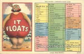 com001116 - Comic, Comics Postcard Post Card