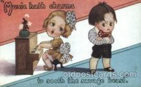 com001139 - Artist Fred Cavally, Comic, Comics Postcard Post Card