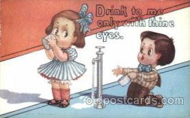 com001142 - Artist Fred Cavally, Comic, Comics Postcard Post Card