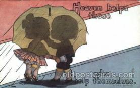 com001143 - Artist Fred Cavally, Comic, Comics Postcard Post Card