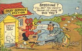 com001160 - Comic, Comics Postcard Post Card