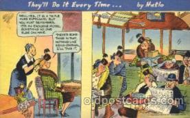 com001201 - Jimmy Hatloi Comic, Comics Postcard Post Card