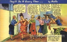 com001202 - Comic, Comics Postcard Post Card