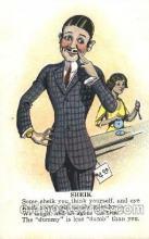 com001242 - Comic, Comics Postcard Post Card