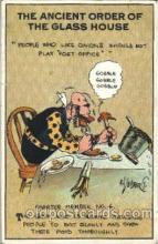 com001257 - Artist Rube Goldberg Comic, Comics Postcard Post Card