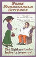 com001258 - Comic, Comics Postcard Post Card