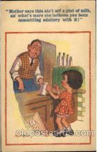 com001261 - Artist Donald McGill, Comic, Comics Postcard Post Card