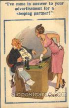 com001263 - Artist Donald McGill, Comic, Comics Postcard Post Card