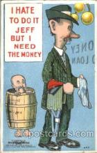 com001267 - Mutt & Jeff, Comic, Comics Postcard Post Card