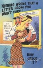 com001269 - US Postal Service, Comic, Comics Postcard Post Card