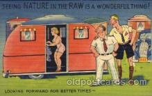 com001311 - Seeing Nature in the raw is a wonderful thing Comic Postcard Post Card