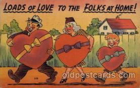 com001326 - Loads of Love Comic Postcard Post Card