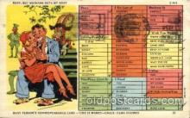 com001345 - Busy Comic Postcard Post Card