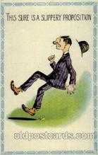 com001395 - Comic Postcard Comical Post Card Old Vintage Antique Carte, Postal Postal