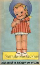 com001400 - Comic Postcard Comical Post Card Old Vintage Antique Carte, Postal Postal