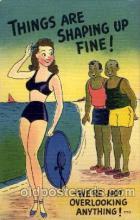 com001404 - Comic Postcard Comical Post Card Old Vintage Antique Carte, Postal Postal