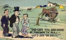 com001408 - Comic Postcard Comical Post Card Old Vintage Antique Carte, Postal Postal