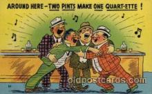 com001428 - Comic Postcard Comical Post Card Old Vintage Antique Carte, Postal Postal