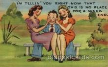 com001431 - Comic Postcard Comical Post Card Old Vintage Antique Carte, Postal Postal