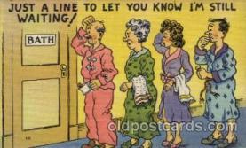 com001434 - Comic Postcard Comical Post Card Old Vintage Antique Carte, Postal Postal