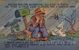 com001440 - Comic Postcard Comical Post Card Old Vintage Antique Carte, Postal Postal