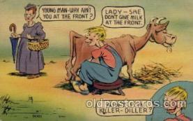 com001444 - Comic Postcard Comical Post Card Old Vintage Antique Carte, Postal Postal