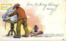 com001445 - Comic Postcard Comical Post Card Old Vintage Antique Carte, Postal Postal