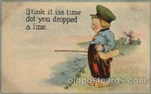 com001447 - Comic Postcard Comical Post Card Old Vintage Antique Carte, Postal Postal