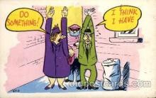 com001448 - Comic Postcard Comical Post Card Old Vintage Antique Carte, Postal Postal