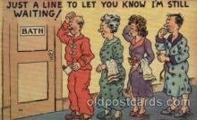 com001451 - Comic Postcard Comical Post Card Old Vintage Antique Carte, Postal Postal