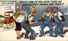 com001452 - Comic Postcard Comical Post Card Old Vintage Antique Carte, Postal Postal