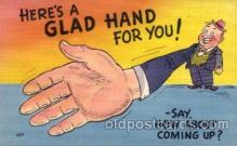 com001464 - Comic Postcard Comical Post Card Old Vintage Antique Carte, Postal Postal