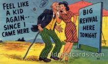 com001472 - Comic Postcard Comical Post Card Old Vintage Antique Carte, Postal Postal