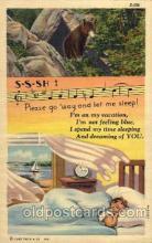 com001501 - Comic Postcard Post Card