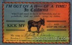 com001546 - Comic Postcard Post Card