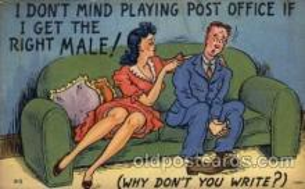 com001563 - Comic Postcard Post Card