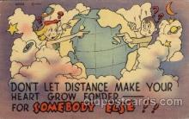 com001573 - Comic Postcard Post Card