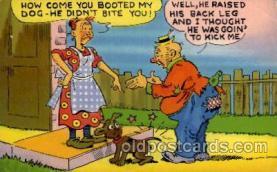 com001575 - Comic Postcard Post Card