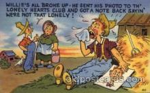 com001601 - Comic Postcard Post Card