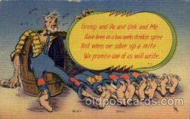 com001613 - Comic Postcard Post Card