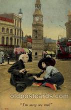 com100010 - Comic Postcard Post Card