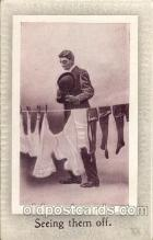 com100015 - Comic Postcard Post Card