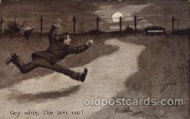 com100039 - Comic Postcard Post Card