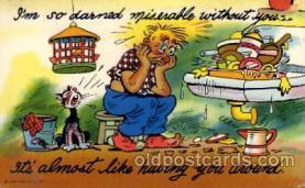 com100058 - Comic Postcard Post Card