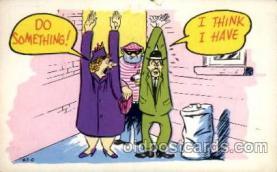 com100085 - Comic Postcard Post Card