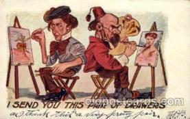 com100096 - Comic Postcard Post Card