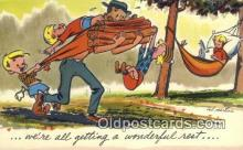 com100158 - Comic Comical Postcard Post Card Old Vintage Antique