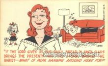 com100161 - Comic Comical Postcard Post Card Old Vintage Antique