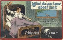 com100189 - Comic Comical Postcard Post Card Old Vintage Antique