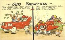 com100231 - Comic Comical Postcard Post Card Old Vintage Antique